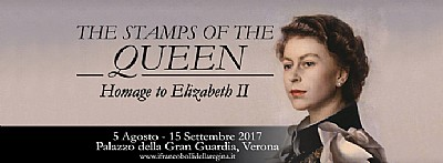 The Stamps Of The Queen- Homage to Elizabeth II