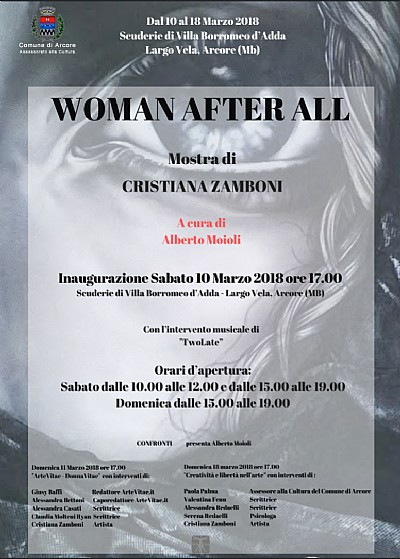 Mostra d'arte di Cristiana Zamboni Woman After All